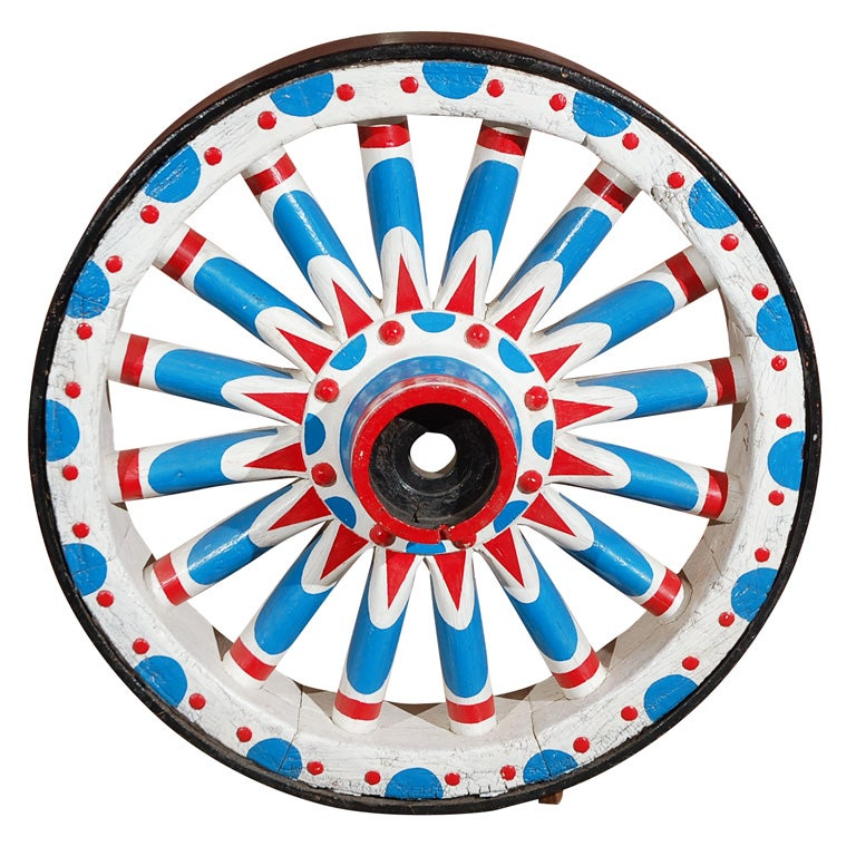 Colossal Circus Wagon Wheel