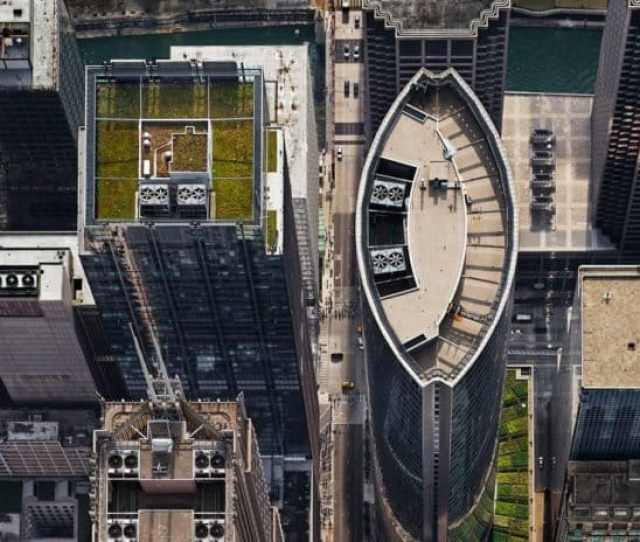 Brad Temkins  S Wacker Drive From Above Looking West