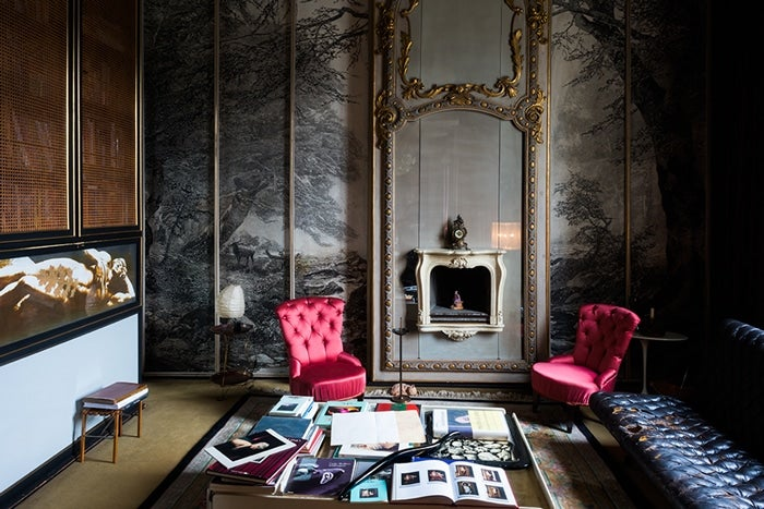 Italian Interior Design  20 Images of Italy s Most Beautiful Homes Carlo Mollino Turin House 1stdibs
