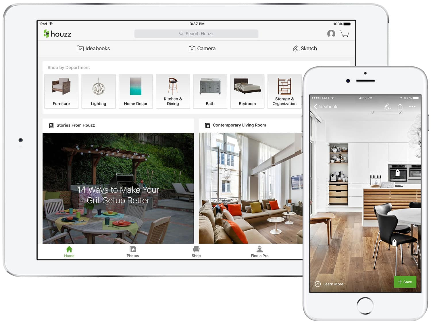 Interior Design Apps  17 Must Have Home Decorating Apps for Android     Houzz is  arguably  the mother of all design apps     CNN once called it the     Wikipedia of interior and exterior design     Its database contains more  than 14
