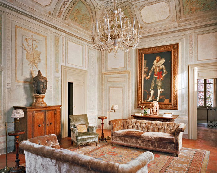 Italian Interior Design  20 Images of Italy s Most Beautiful Homes Studio Peregalli Brescia Palazzo