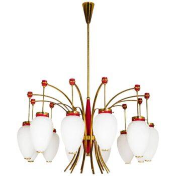 mid century wooden lamps