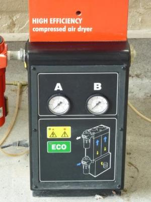 Ingersoll Rand SSR M55 Compressor with 340l Air Receiver