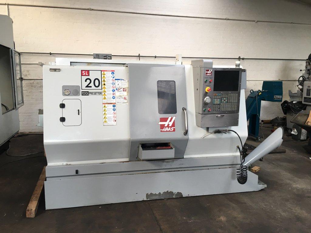 Haas Sl 20 Cnc Lathe 1st Machinery