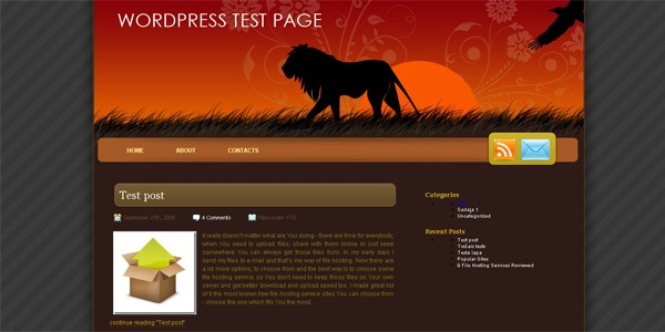 lion-wordpress-theme