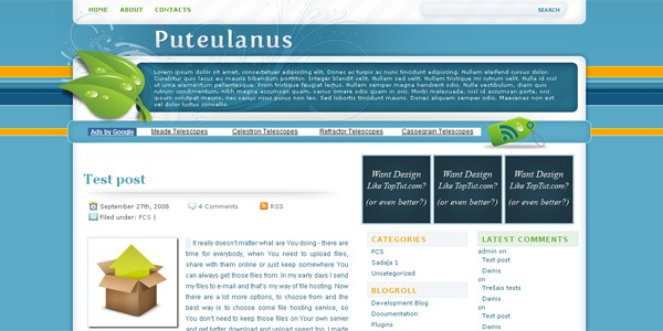 puteulanus-wordpress-theme