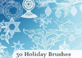 holiday-brushes