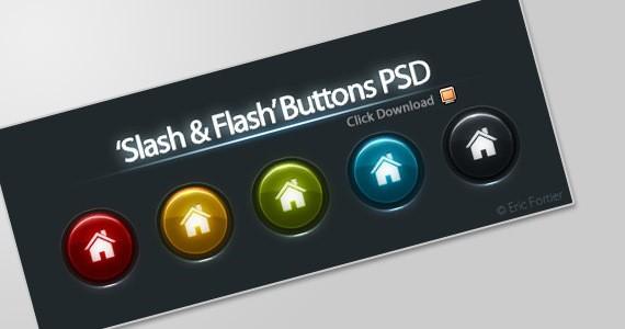 slash-flash-buttons
