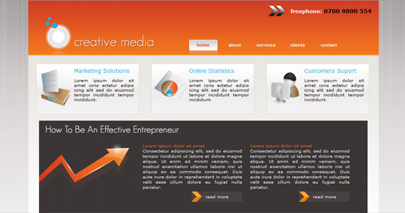 creative-media-xhtml-css-template