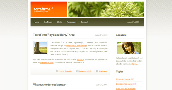 terra-firma-xhtml-css-template