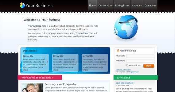 your-business-css-xhtml-template
