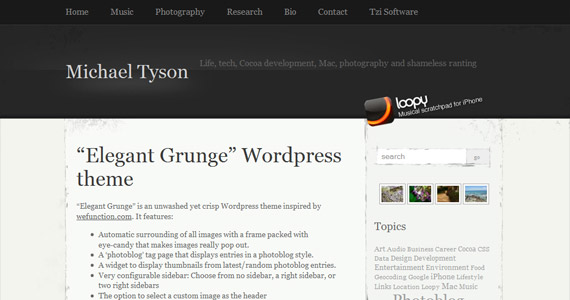 elegant-grunge-professional-wordpress-theme