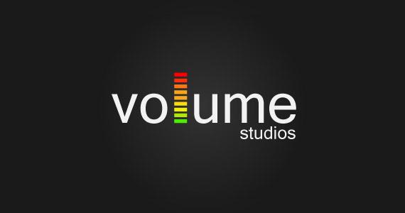 volume-creative-gradient-3d-logo-design