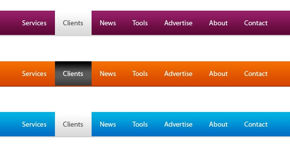 navigation-menu-webdesign-psd-free-buttons-icons