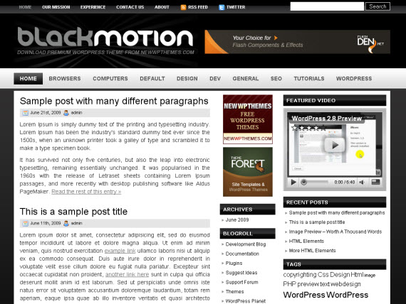 black-motion-free-premium-wordpress-theme