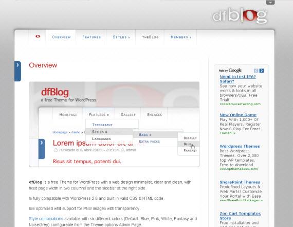 dfblog-free-premium-wordpress-theme