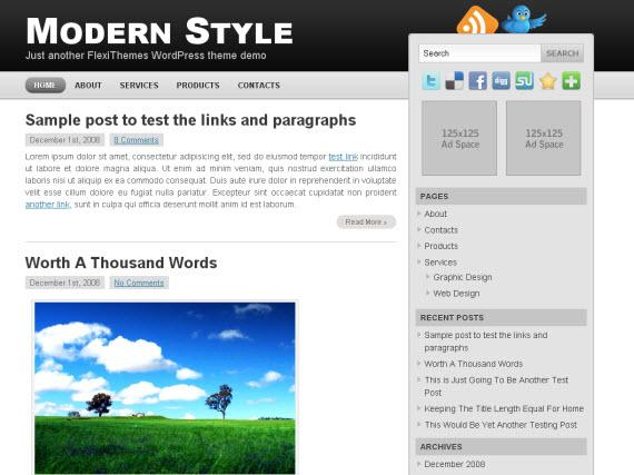 modern-style-free-premium-wordpress-theme