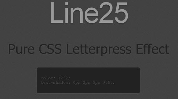 letterpress-css-text-effects-typography