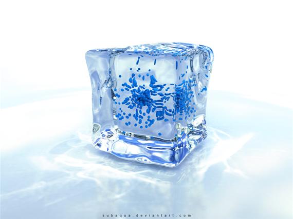 blue-ice নিন ৪০টি 3D ওয়ালপেপার