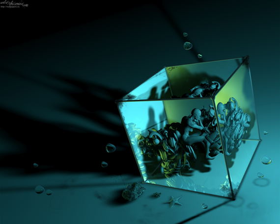 cg-deep নিন ৪০টি 3D ওয়ালপেপার