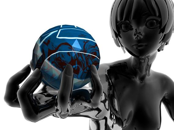 metal-girl নিন ৪০টি 3D ওয়ালপেপার