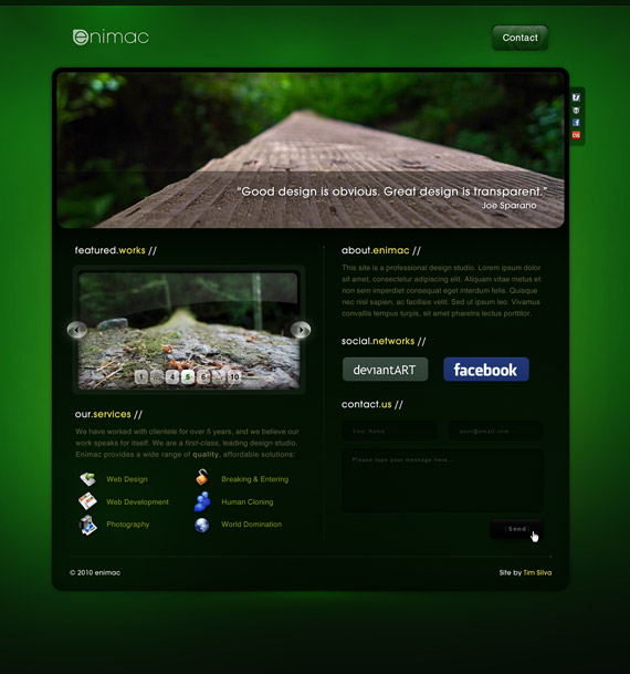 Enimac-web-design-interface-inspiration-deviantart