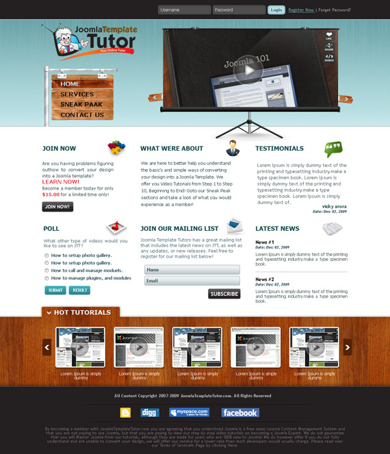 Tutor-web-design-interface-inspiration-deviantart