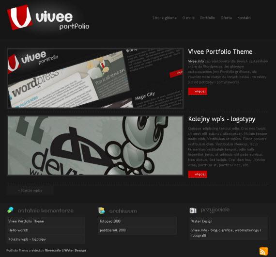 Vivee-free-portfolio-wordpress-themes