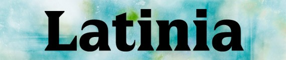 LatiniaBlack free font