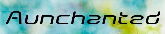 AunchantedExpandedBoldOblique free font