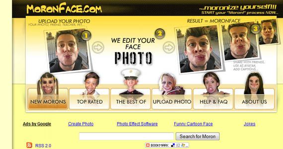 Moronface-fun-online-photo-editing-websites
