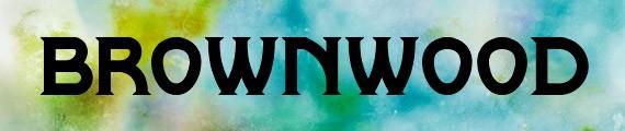 Brownwood NF free font