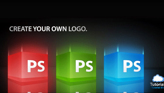 How to create 3d box logo