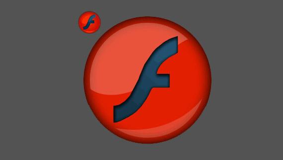 How to create flash logo