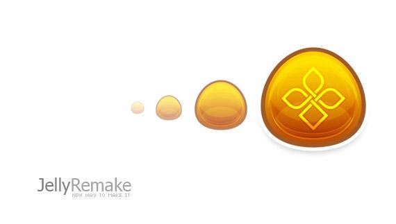 Jelly remake logo tutorial