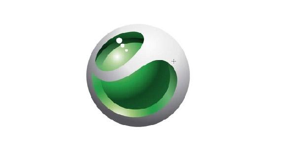 How to create sony ericssion logo