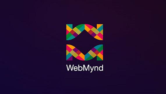 Logo design process of webmynd