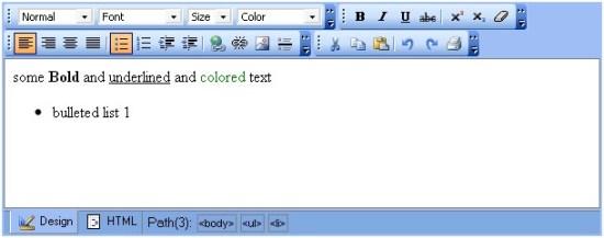 Free Text Box