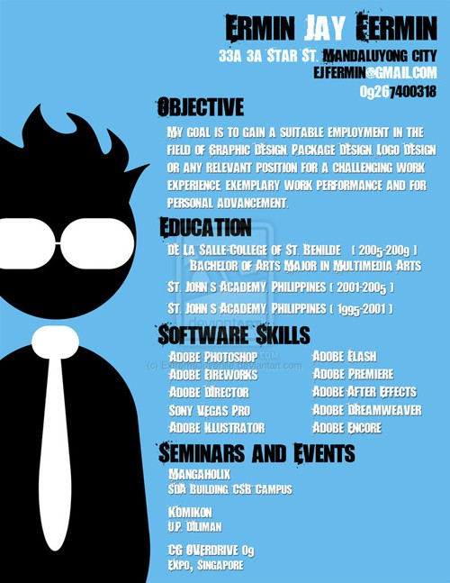 30 my old designer s resume by extremejuvenile
