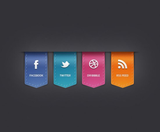 Learn How To Quickly Create Tasty Social Icons Using Photoshop