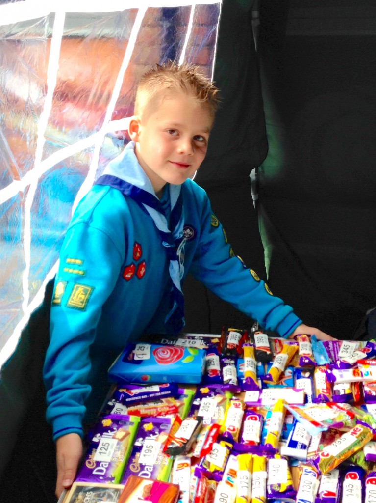 1st Woosehill Scout Group - Chocolate Tombola