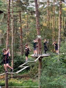 Hawks Cubs Go Ape at Swinley Forest