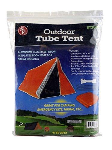 SE ET3683 Emergency Outdoor Tube Tent ...  sc 1 st  1Survivor & SE ET3683 Emergency Outdoor Tube Tent with Steel Tent Pegs | 1Survivor