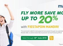 Citilink promotion deals information september 2018 citilink indonesia 20 off with fiestapoin mandiri and 0 installment reheart Image collections