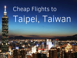 cheap flights to Taipei Taiwan