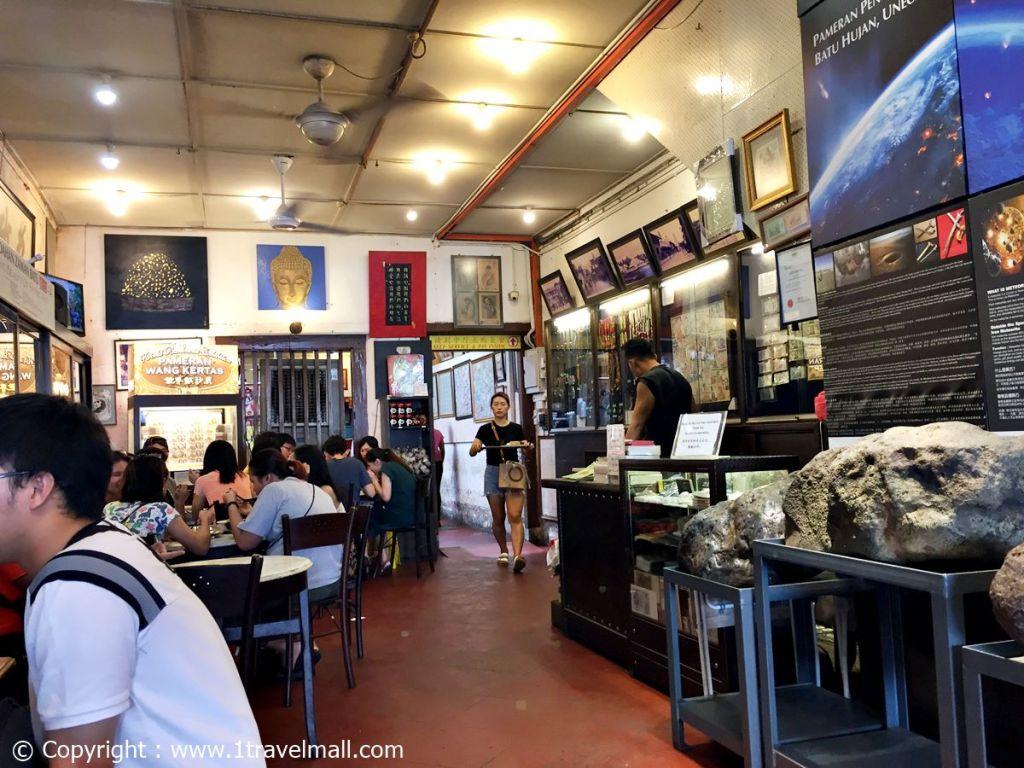 Jonker 88 Melaka inside the restaurant