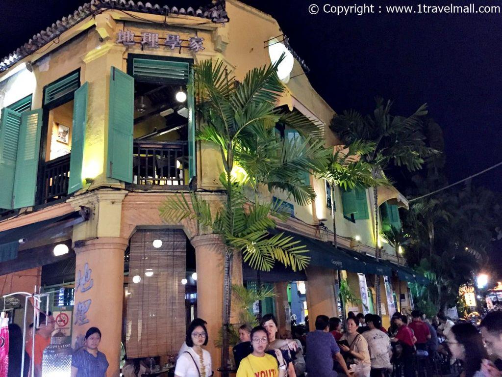 Jonker Street Night Market Melaka Geology
