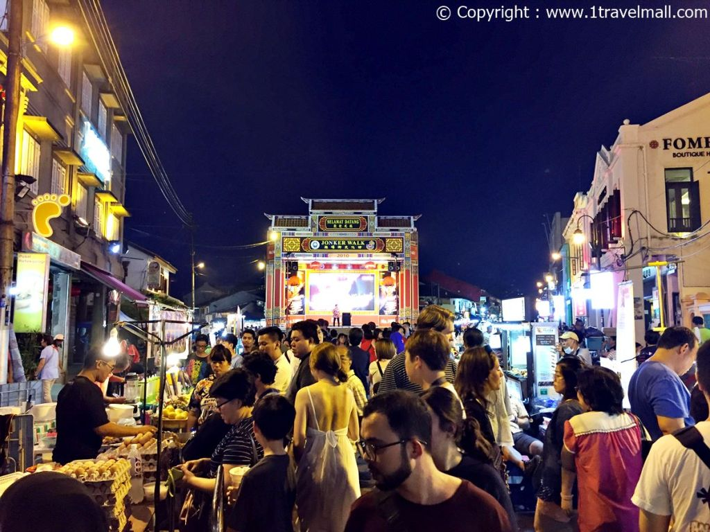 Jonker Street Night Market Melaka night life