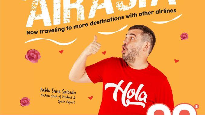 AirAsia Madrid Promotion RM99 Nov 2019