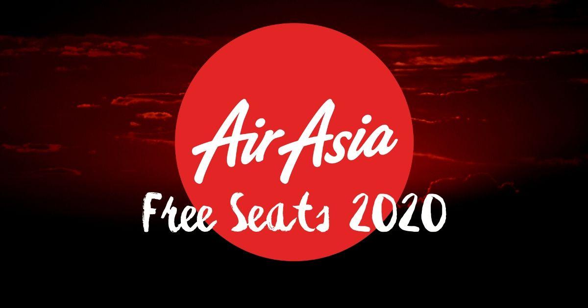 AirAsia Free Seats 2020